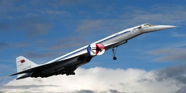 Сверхзвуковой самолёт Ту-144