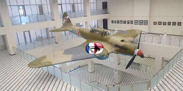 В Махачкале установят точную копию Ил-2 Героя Советского Союза Юсупа Акаева