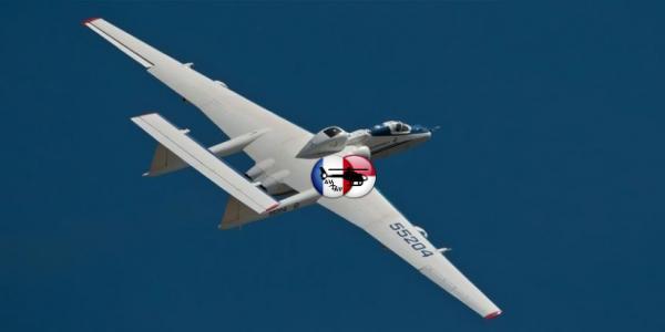 Самолёт М-55 «Геофизика» для исследований глобального изменения климата Земли