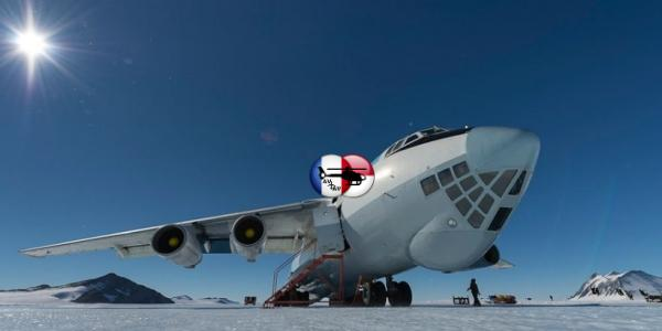 30 лет назад тяжёлый Ил-76ТД впервые совершил посадку в Антарктиде