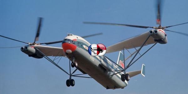 В-12 — вертолёт стратегического назначения
