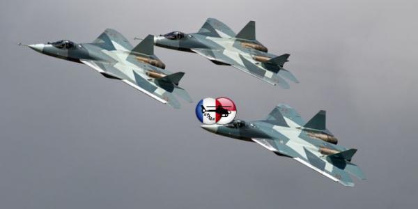 Минобороны ожидает поставку двух первых серийных истребителей Су-57