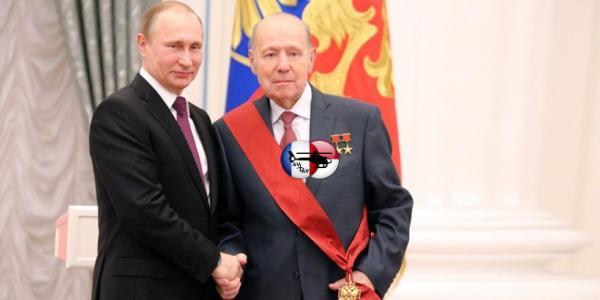 Генрих Новожилов награждён орденом «За заслуги перед Отечеством» I степени
