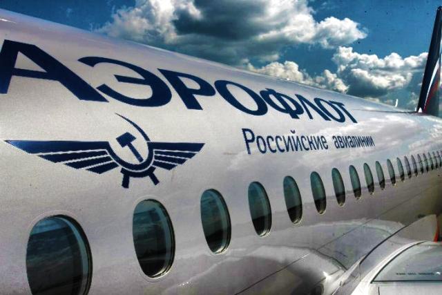 «Аэрофлот» получил в свое пользование авиалайнер SSJ100